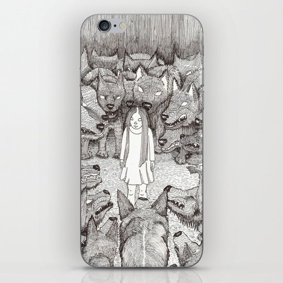 """""""I will not let her see me like this."""" iPhone & iPod Skin"""