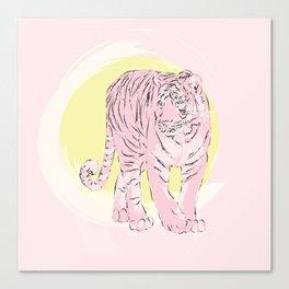 Sunny Tiger Canvas Print
