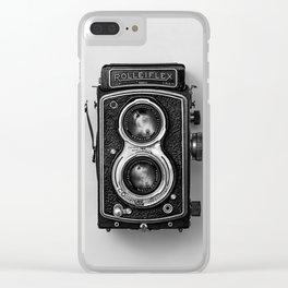 Rolliflex Camera Clear iPhone Case