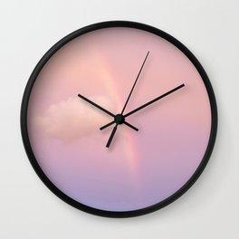 Rainbow Envy Wall Clock