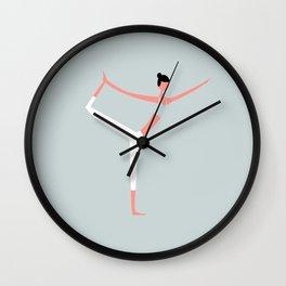 YOGA GIRL #1 Wall Clock