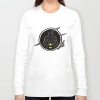 durarara Long Sleeve T-shirts featuring Celty's Coffee Stain by SamyyChang