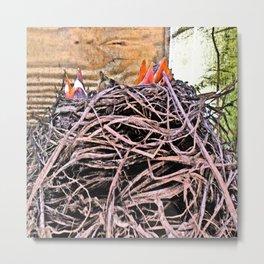 Spring Quartet Metal Print