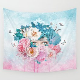 FLORAL EVA Wall Tapestry