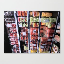 Whole Foods Canvas Print