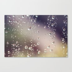 Raindrops I Canvas Print