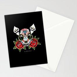Cat Sugar Skull Stationery Cards