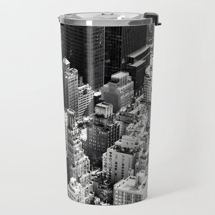 Manhattan Skyline Travel Mug