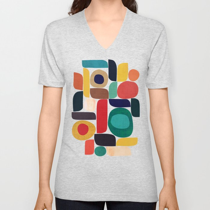 Miles and miles Unisex V-Neck