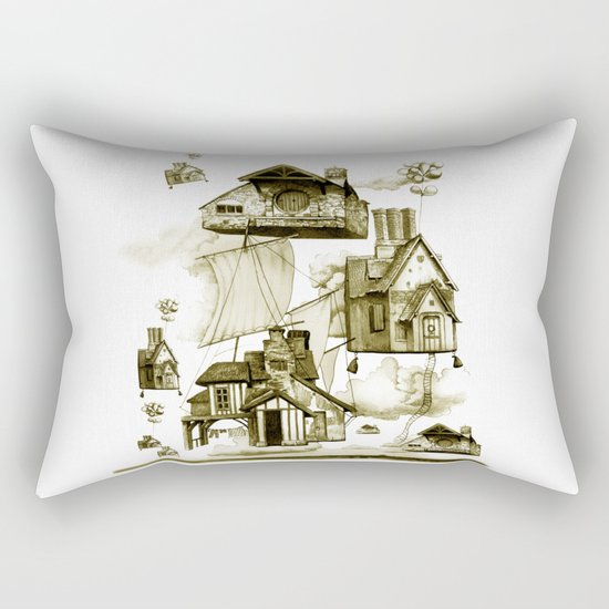 houseII Rectangular Pillow