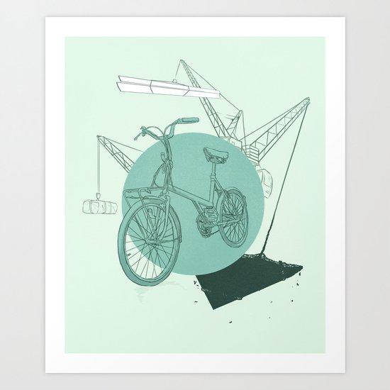 3 Speed Art Print