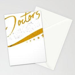 Doctors Know Best Medical Doctor Medicine Stationery Cards