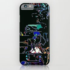 Neon Dallas Skyline Slim Case iPhone 6s
