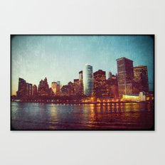When the Lights Go Out Canvas Print