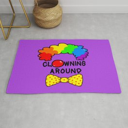 Clowning Around Rug