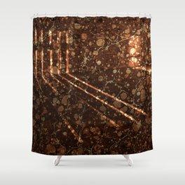 Vintage Lockhouse Revival Shower Curtain