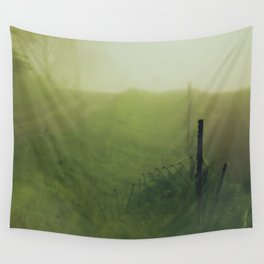 Country Road Mornings Wall Tapestry