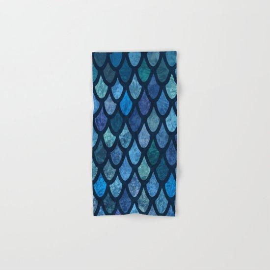 Scales Hand & Bath Towel