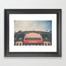 Wrigley Field ... Framed Art Print