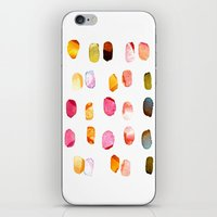 aelwen iPhone & iPod Skins featuring strokes of colors by clemm