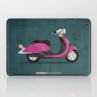 honda iPad Cases featuring Honda Shadow by Floris Voorveld