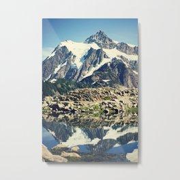 Mt. Shucksan Metal Print