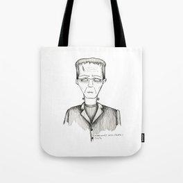 Frank-Einstein Tote Bag