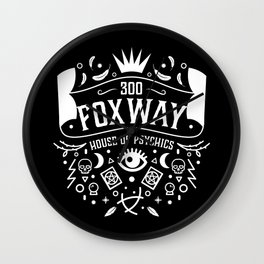 300 Fox Way v2 Wall Clock