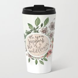 Wildflower Metal Travel Mug