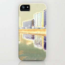 Oceanfront Reflections iPhone Case