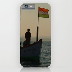 Dolphin Boat with Indian Flag Palolem iPhone 6s Slim Case