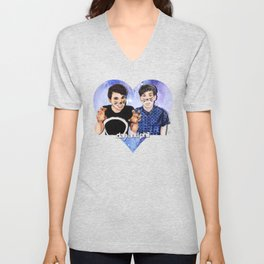 DAN AND PHIL Unisex V-Neck
