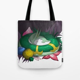 Serperior In The Grass Tote Bag