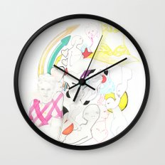 Whe love Fashion 3 Wall Clock