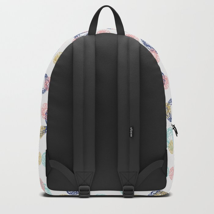 Colorful Scribbles Backpack