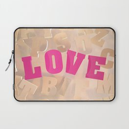 Love #2 Laptop Sleeve