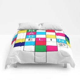 Pixel Heart Comforters