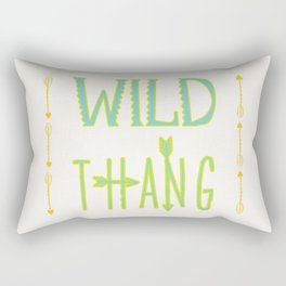 Wild Thang Rectangular Pillow