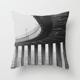 Tromsø bridge 1 Throw Pillow