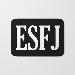 ESFJ Personality Type Bath Mat