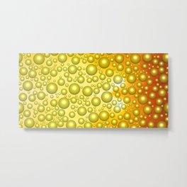 Cheerful bubbles Metal Print