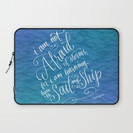 Sail My Ship Laptop Sleeve