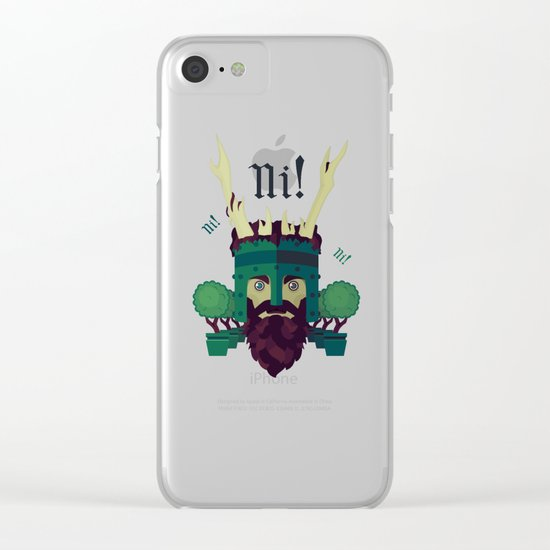 NI! Clear iPhone Case