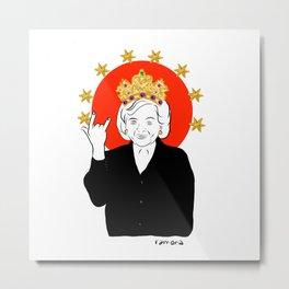 Queens Series: Betty! Metal Print
