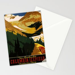 Nostalgie Columbia Icefield Stationery Cards