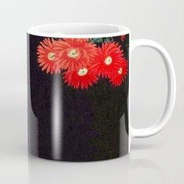 Ohara Koson Chrysanthemums and Running Water 1931 Japanese Woodblock Print Vintage Historical Coffee Mug