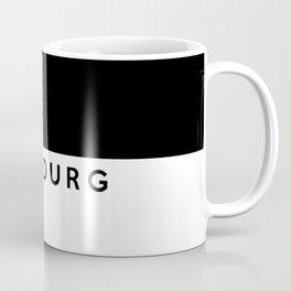 fribourg region switzerland country flag name text swiss Coffee Mug