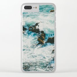 Palos Verdes Surf Clear iPhone Case
