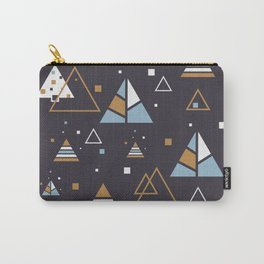 Polar Trees Abstract Carry-All Pouch