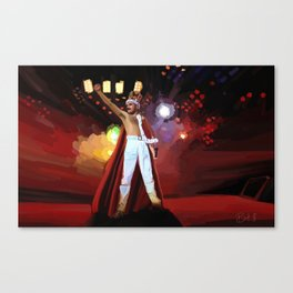 Hail to the Queen ♫♪ Canvas Print